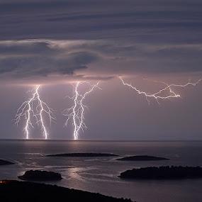 by Ante Buric - Landscapes Weather ( croatia šolta maslinica dalmatia he adriatic )