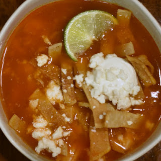 Easy Authentic Tortilla Soup.