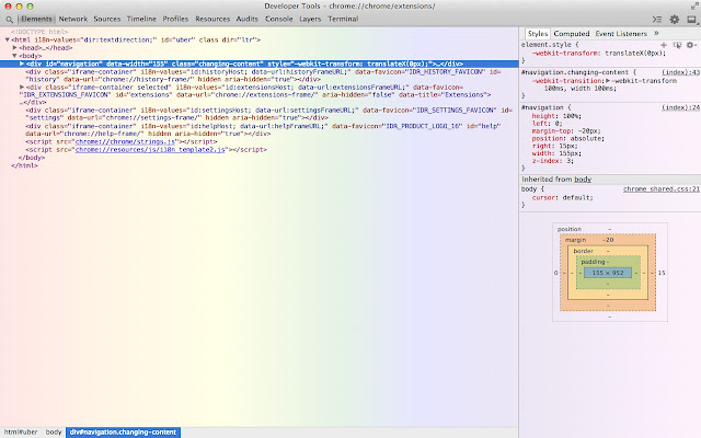 Rainbow DevTools Theme