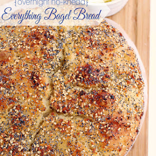 "Overnight No-Knead ""Everything Bagel"" Artisan Bread"