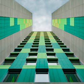 Architectural Gradient by Andrius La Rotta Esquivel - Buildings & Architecture Other Exteriors ( art, symmetry, architectural detail, artistic, photographer, architectural, photography, colombia, architecture )