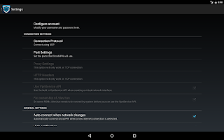 Screenshot of DroidVPN - Android VPN
