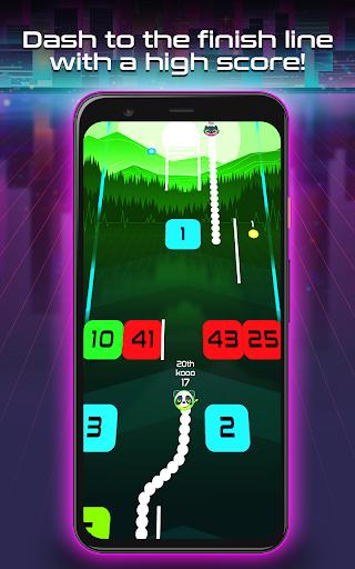 Snake Breakout: Fun PvP Battle Arcade Racing Games android2mod screenshots 3