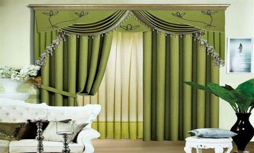 Living room curtain design android apps on google play for Curtain ideas for living room 2 windows