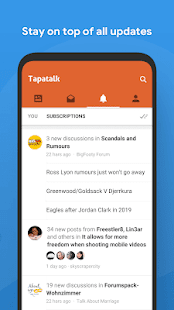 Tapatalk - 200,000+ Forums Screenshot