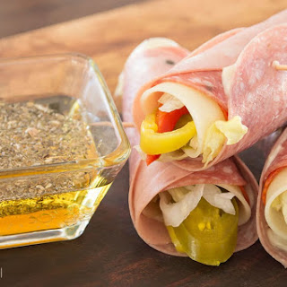 Italian Sub Roll-Up {grain-free}.