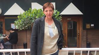 Pilar Vega en la terraza de La Habana Cristal.