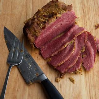 Mustard & Beer Corned Beef.