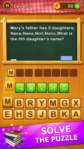 Word Riddles - Free Offline Word Games Brain Test apkmr screenshots 10