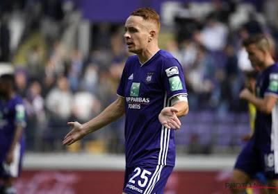 Mauvaise nouvelle pour Anderlecht: Trebel va être absent longtemps