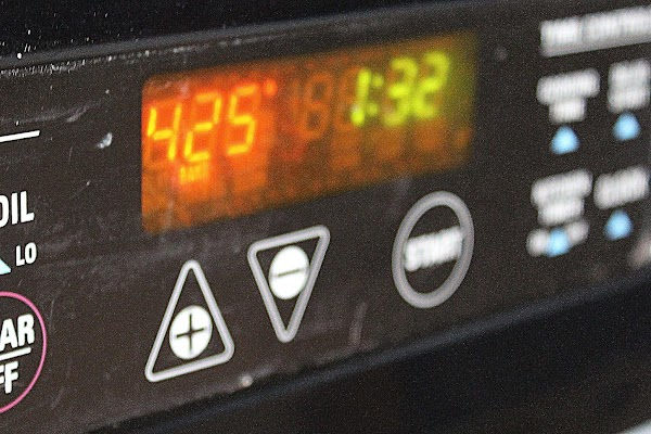 Pre-heat oven to 425 degrees.