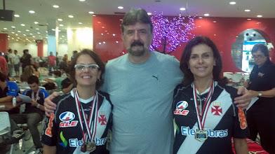 Photo: Lúcia Vieira & Léa Castro, Maior Partida (458) nas duplas femininas 1.ª divisão