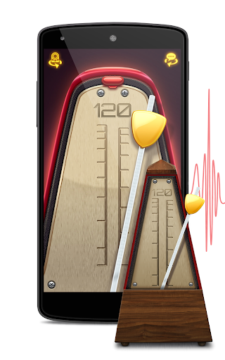 Real Metronome for Guitar, Drums & Piano for Free screenshot 1