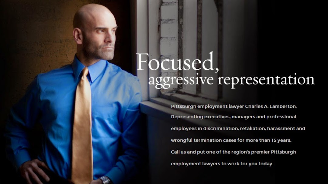 Lamberton Law Firm, LLC - Employment Attorney in Pittsburgh