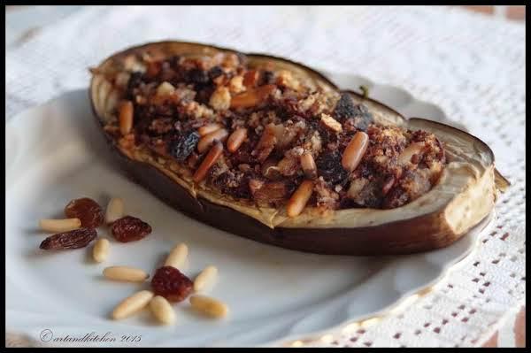 Sicilian Stuffed Eggplant