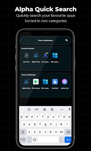 Alpha Launcher Free - No ads 10.6 screenshots 11
