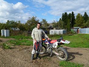 Photo: Мой б/однокласнник Олег Бобровский и его мотоцикл