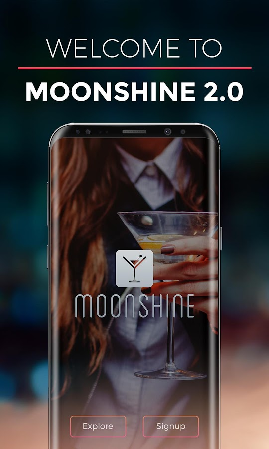 Moonshine App- screenshot