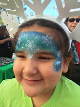 Photo: Frozen themed face painting by Maria, Diamond Bar, Ca 888-750-7024http://www.memorableevententertainment.com/FacePainting/MariaChino,Ca.aspx