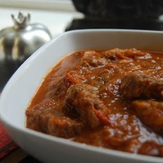 Khoresht Bademjan - Persian Eggplant Stew