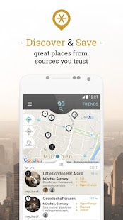 myLike – find and save places- screenshot thumbnail