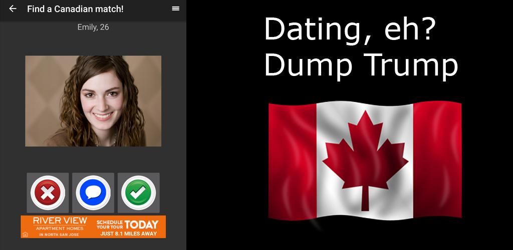 Dating app Kanada Trump Anahi dating liv