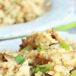 Crockpot Chicken and Wild Rice Casserole