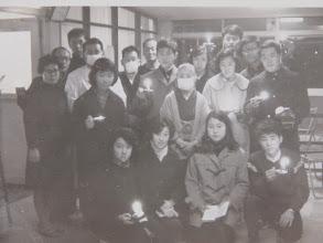 Photo: 駒沢病院でのキャロリングによって、大いなる恵みを得た。