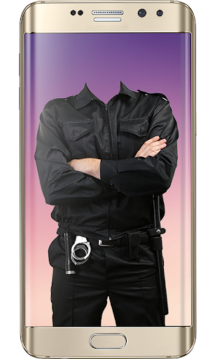 Police Suit Photo Frames - Picture & Image Editor screenshot 5