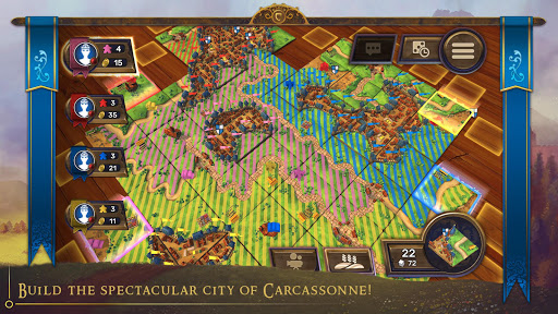 PC u7528 Carcassonne: Official Board Game -Tiles & Tactics 2
