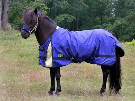 SVEA Utegång normalhals 80g fyllning, till Islandshäst, stl 125 cm