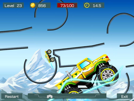 Monster Stunts -- monster truck stunt racing game screenshots 9