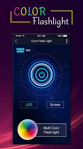 Color Flashlight : Torch LED Flash On Call & SMS 1.10 androidtablet.us 2