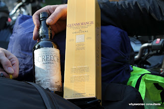Photo: JH's offerings - Screech for the Hosts, Glenmorangie for JimToes