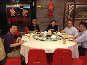 Photo: Team Dinner in Beijing