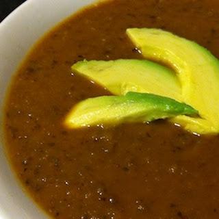 Acorn Squash & Black Bean Soup