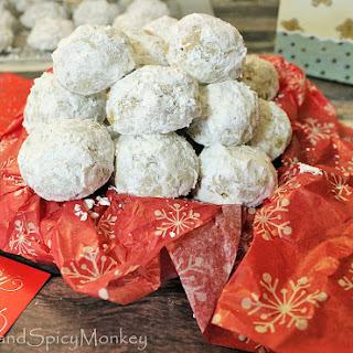Gingerbread Russian Tea Cookies.