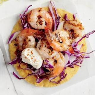 Crunchy Shrimp Tostada