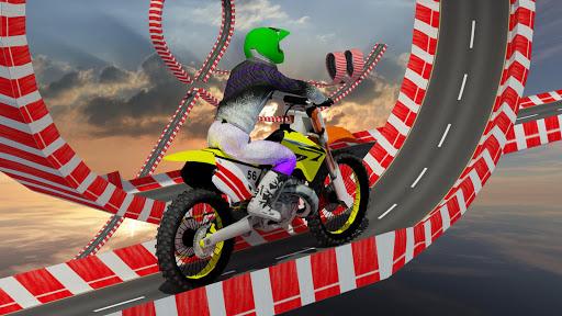 Stunt Bike Impossible Tracks-Race Moto Drive Game image | 15