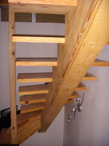 Forum escalier limon central - Escalier avec limon central en bois ...