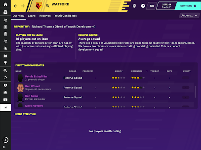 Football Manager 2020 Touch  Apk Download For Android and Iphone 2