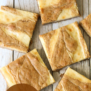 Vanilla Cream Cheese Blondies Recipes