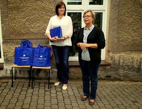 Photo: Opiekun merytoryczny p. dr hab. Małgorzata Skałuba- Krentowicz i komisarz pleneru p. dr Katarzyna Handzlik- Bąk.