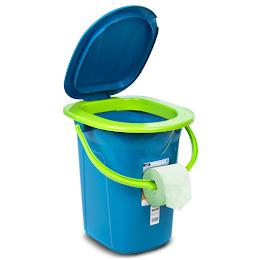 Toaleta portabila turistica camping GreenBlue, GB320BL, 19 litri