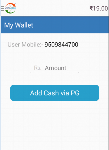 #4. PayMyIndia Recharge & PayBills (Android)