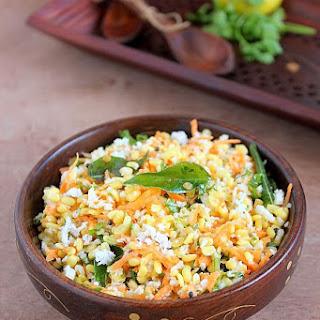 Kosambari | Hesarubele Kosambari | Moong Dal Salad