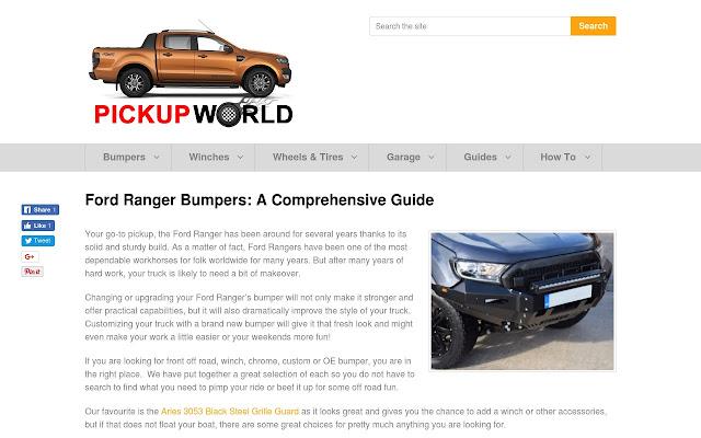 Ford Ranger Bumper Reviews