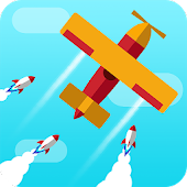 Go Plane Up - Missiles attack & escape
