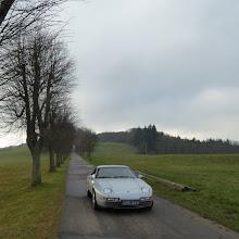 Photo: Am Ende der Allee (Kapellenstraße) ist übrigens ein Schullandheim mit weitem Blick ins Land.