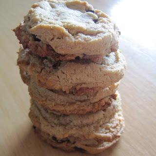 Healthier Tahini Chocolate Chip Cookies